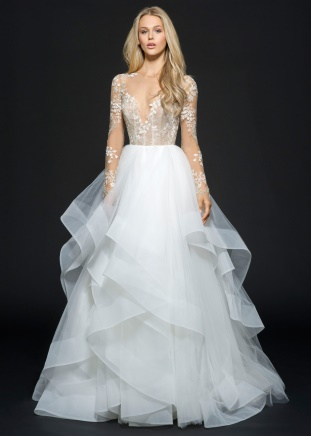 Hayley Paige Lorelei / Style 6654 Wedding Gown