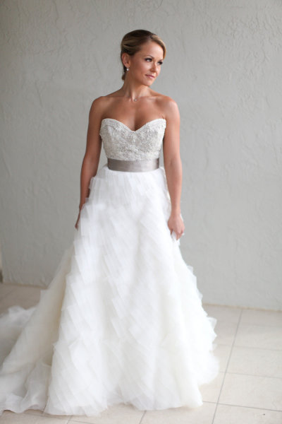 Lazaro bridal gown in sarasota florida jlm couture for Wedding dresses in south florida