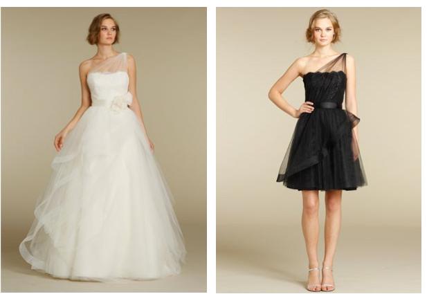 Alvina Valenta, Bridesmaids in Black! | JLM Couture