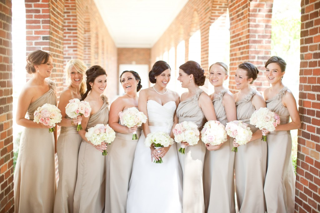 Real Bride Melissa Wore Jim Hjelm Bridal Gown