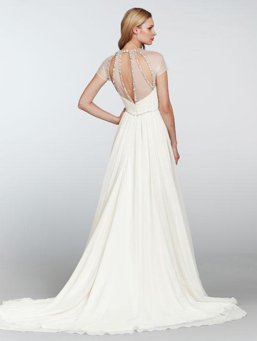 Silk Georgette Wedding Dresses