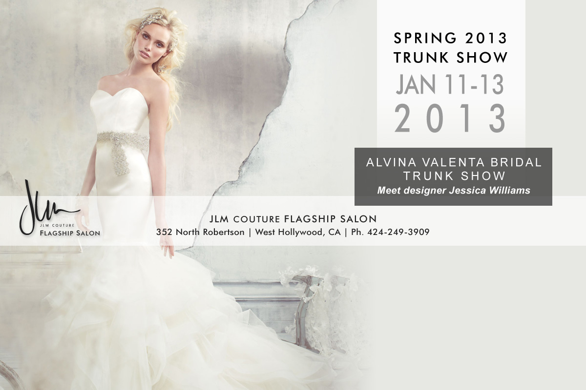 2013 JLM Couture Trunk Shows | JLM Couture