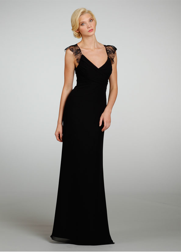 Top 10 Black Bridesmaid Dresses Jlm Couture