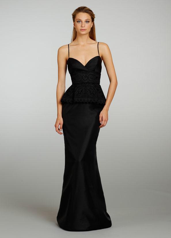 Lazaro Bridesmaid Dresses 2013