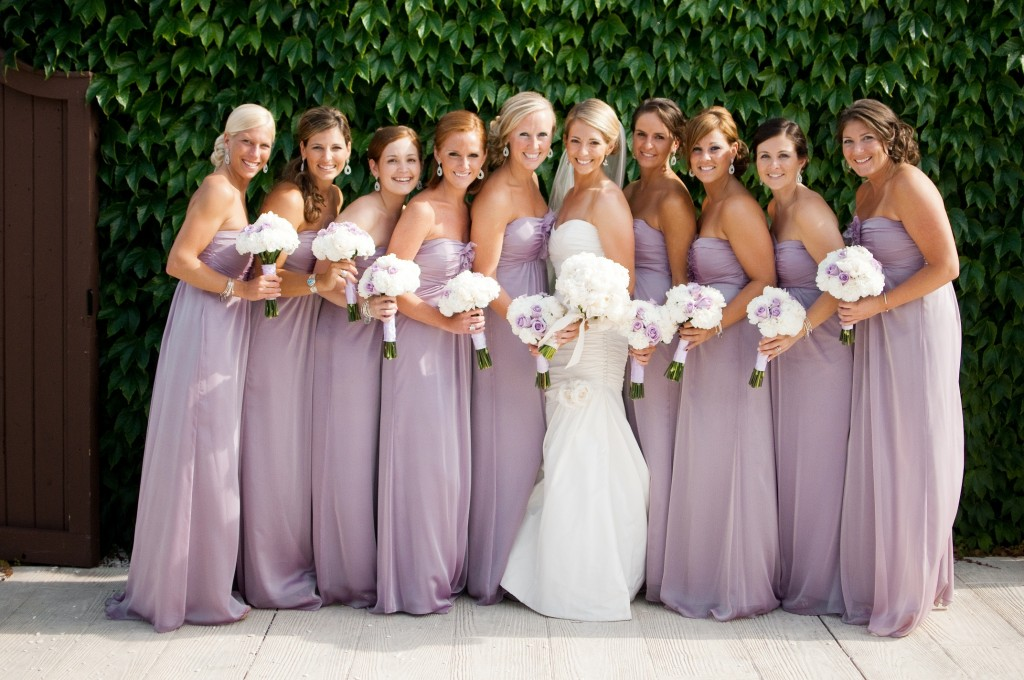 Real Weddings By Color: Be A JLM Couture Real Bridesmaid!