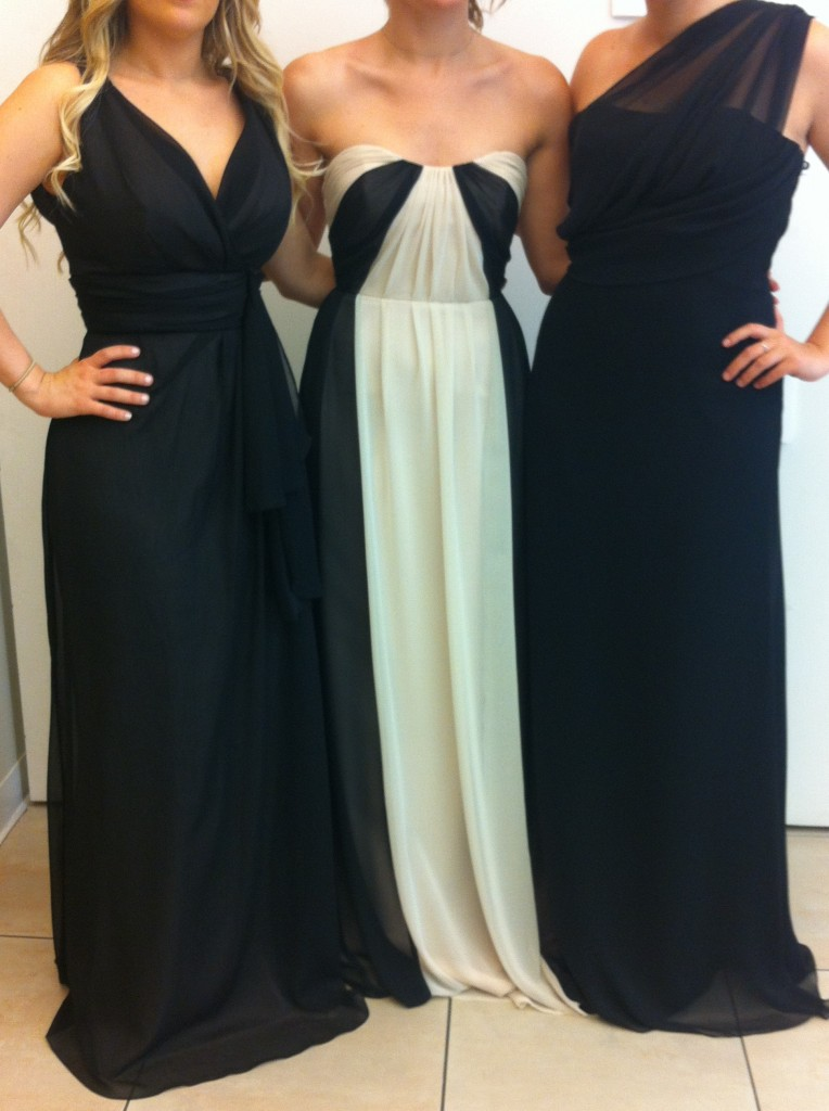 mix and match bridesmaids dresses_ jim hjelm occasions for JLM Couture