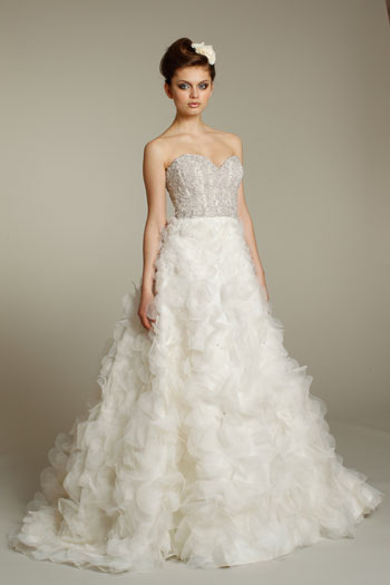 Jlm couture sparkle jlm couture for How much is a lazaro wedding dress