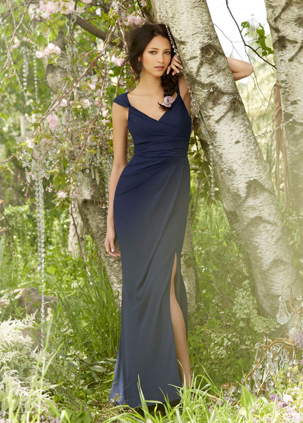 Navy Bridesmaid Dresses - JLM Couture