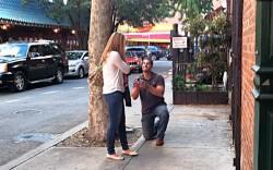 Corey proposing!