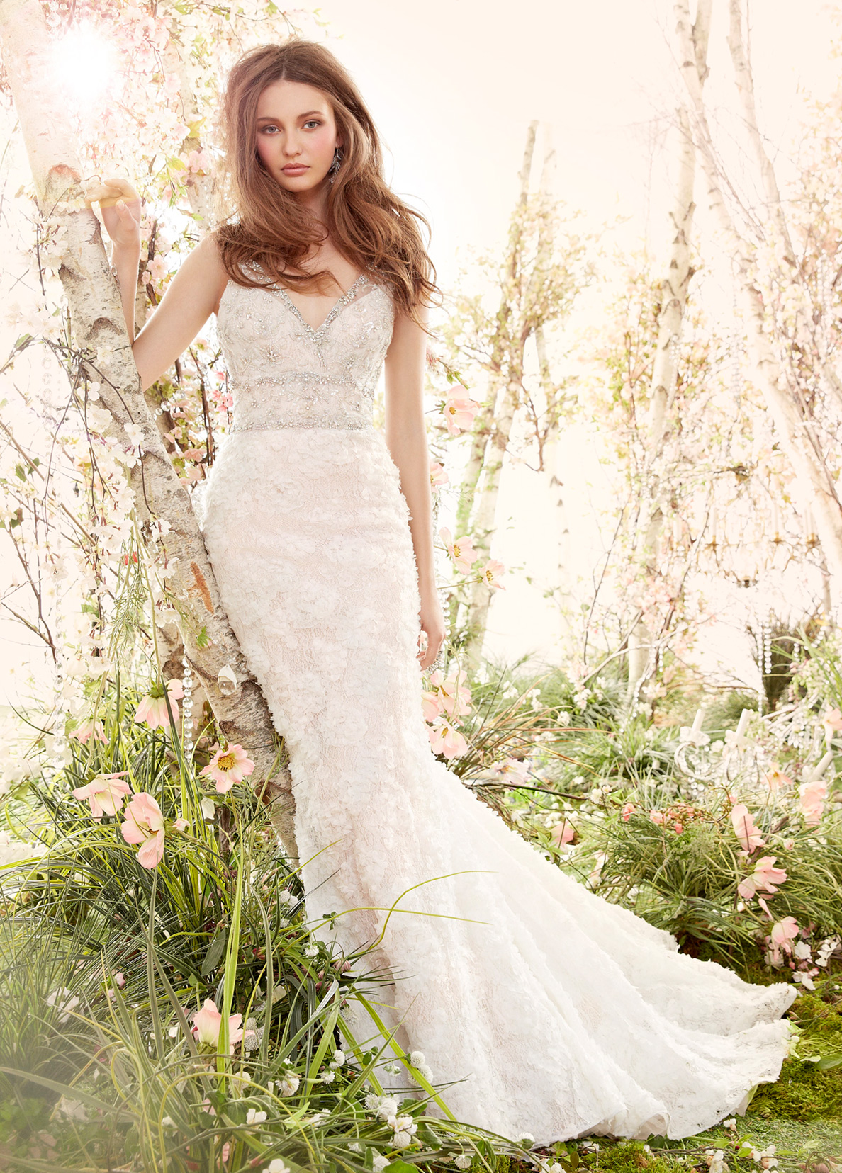 Bridal gowns and wedding dresses by jlm couture style 8414 for Jim hjelm wedding dresses