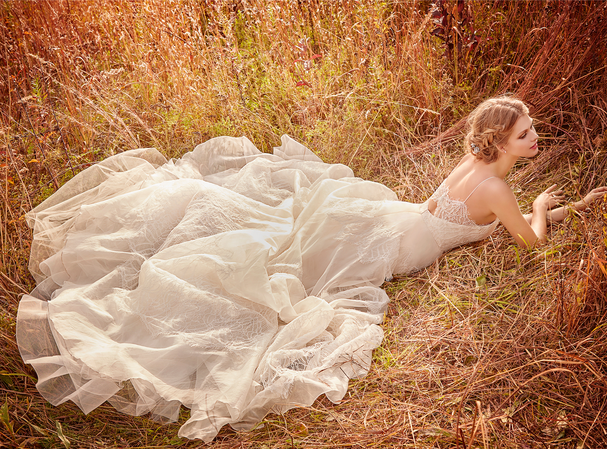 Bridal gowns and wedding dresses by jlm couture style 8601 for Jim hjelm wedding dresses