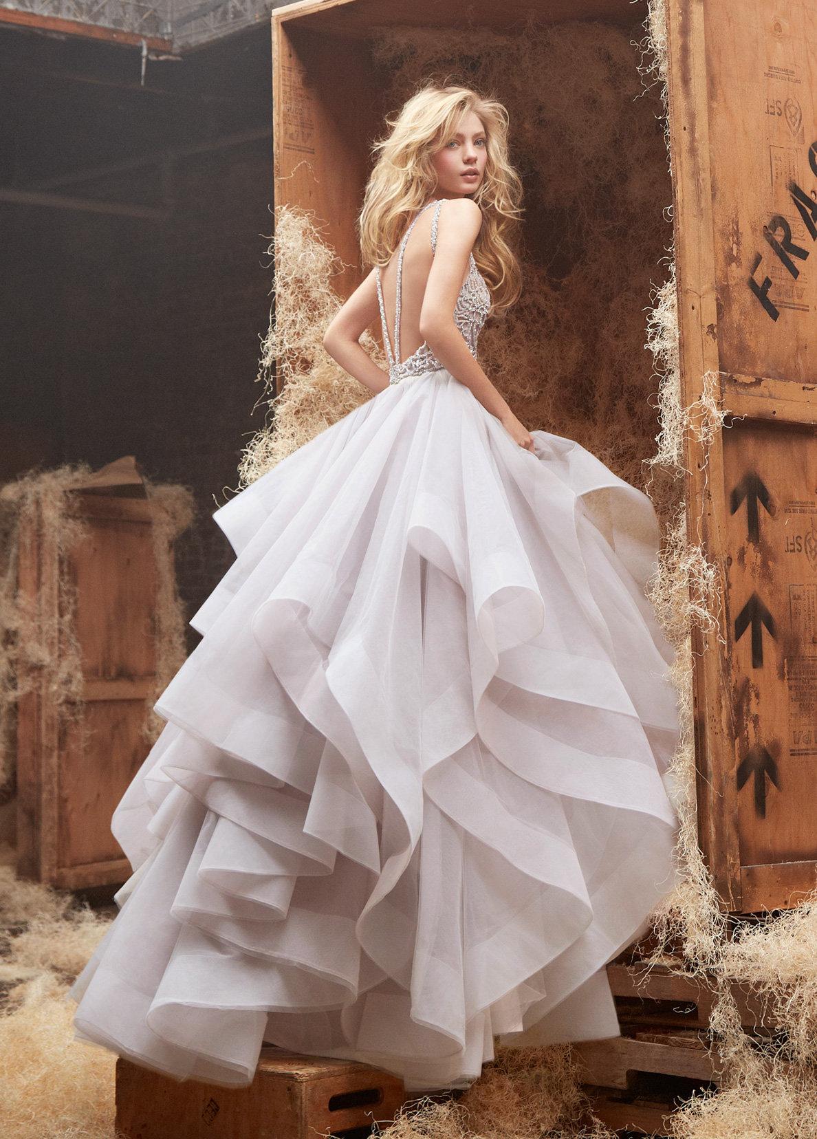 Nastia Liukin Wedding.Nastia Liukin Shines In Dori Gown By Hayley Paige Jlm