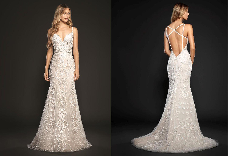 Hayley Paige Maverick Wedding Dress / Style 6706