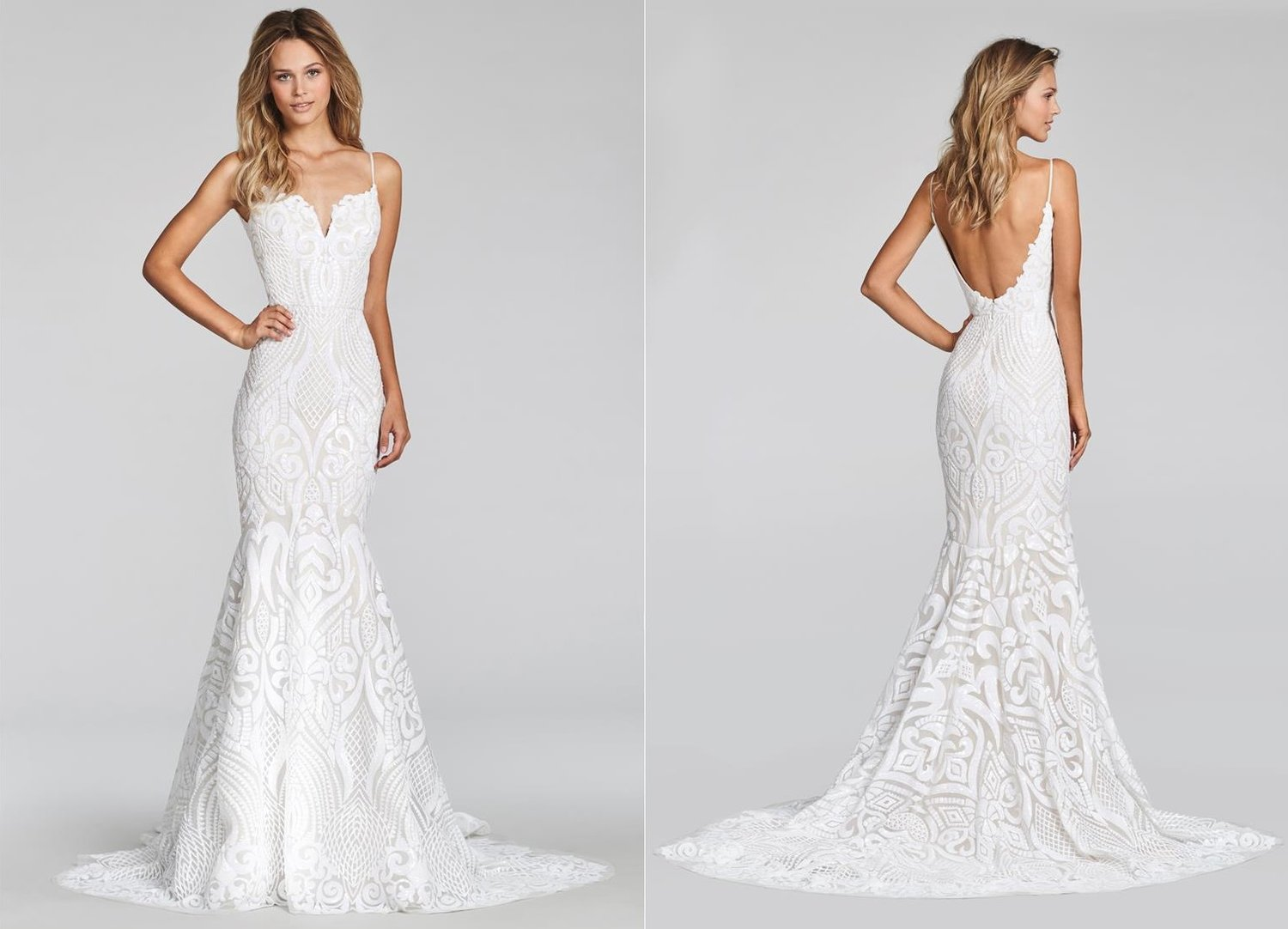 Blush by Hayley Paige West Wedding Gown / Style 1710