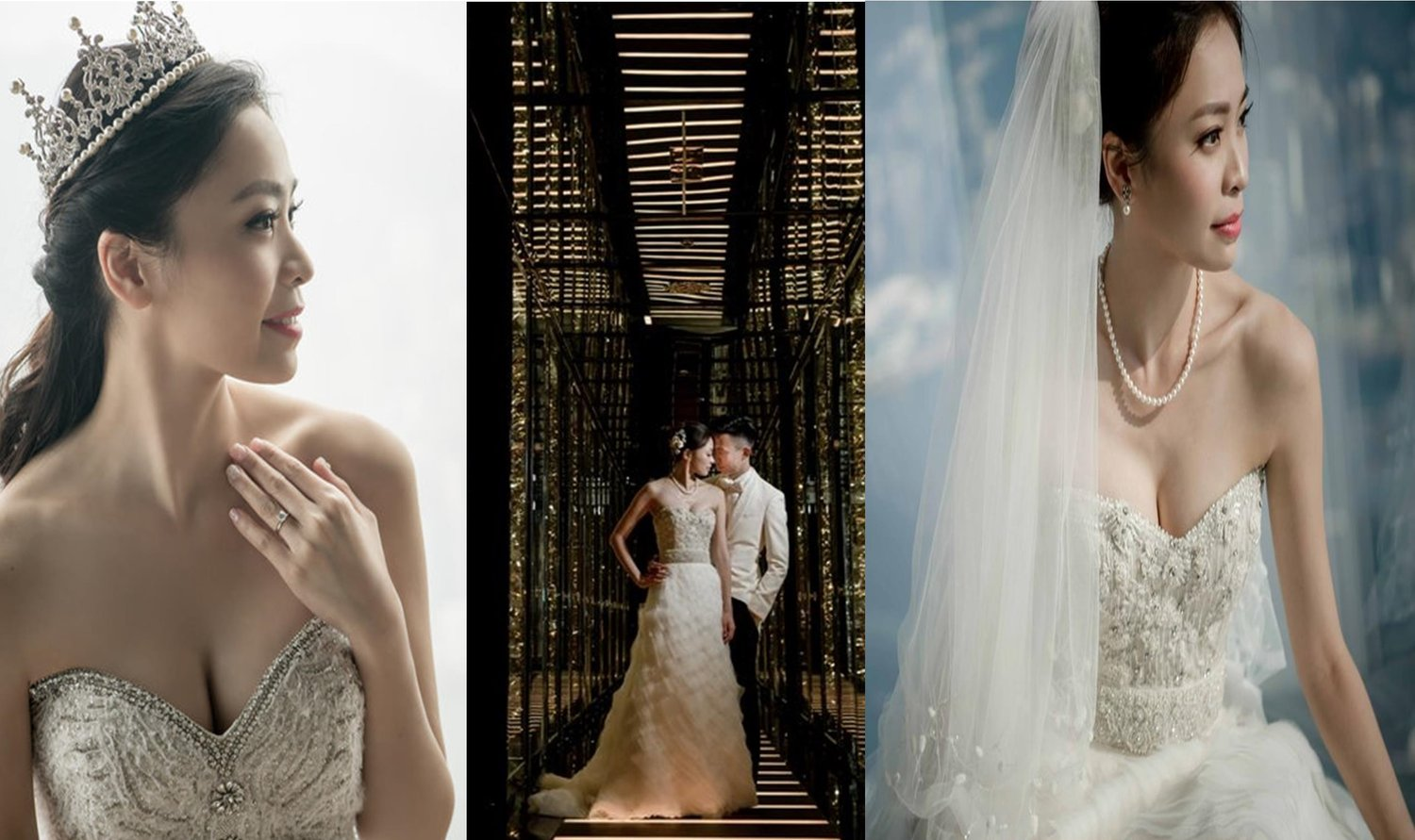 Lazaro Bridal Gowns / Styles 3214, 3063 and 3415