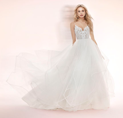 Blush by Hayley Paige Pepper / Style 1700 Wedding Dress