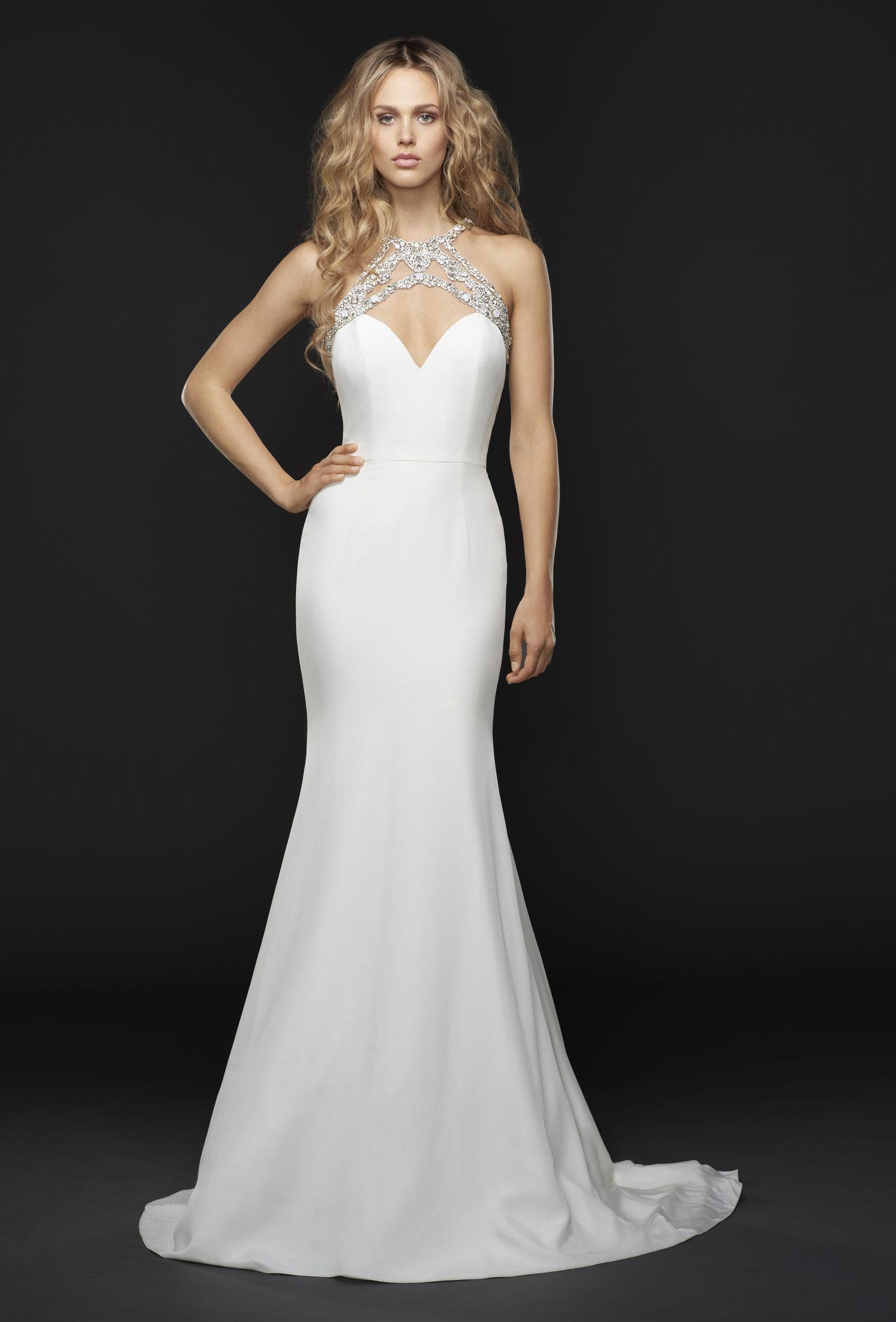 Hayley Paige Sloane Dress / Style 6750