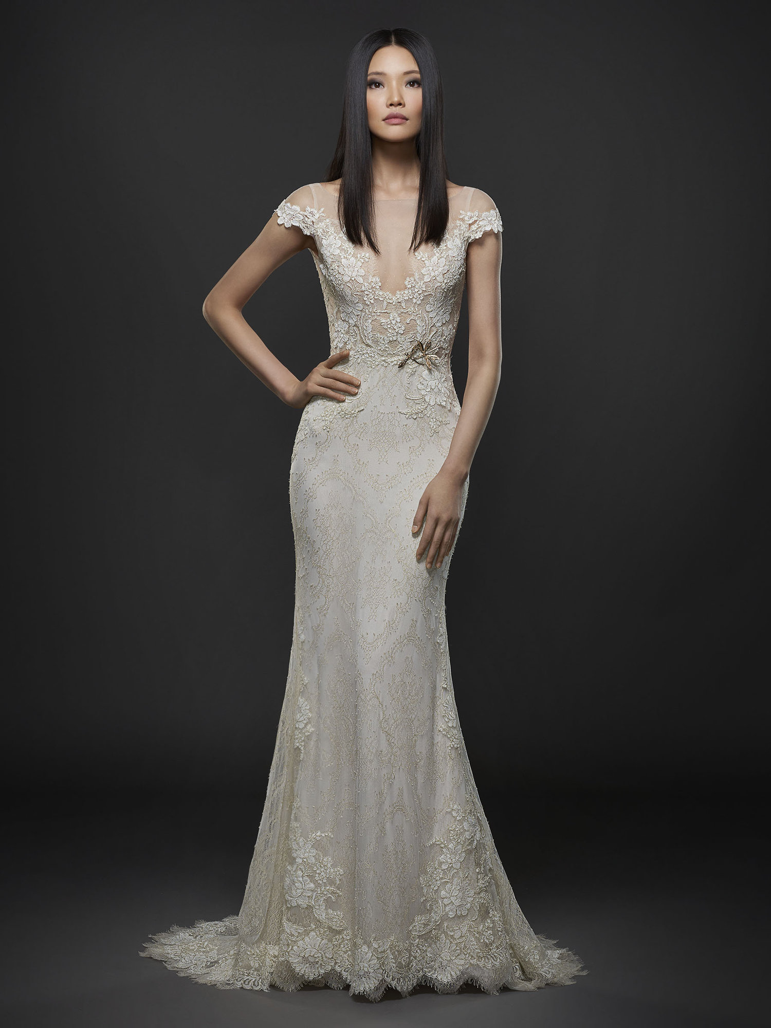 Whats old is new again vintage style wedding gowns jlm couture lazaro style 3763 ombrellifo Choice Image