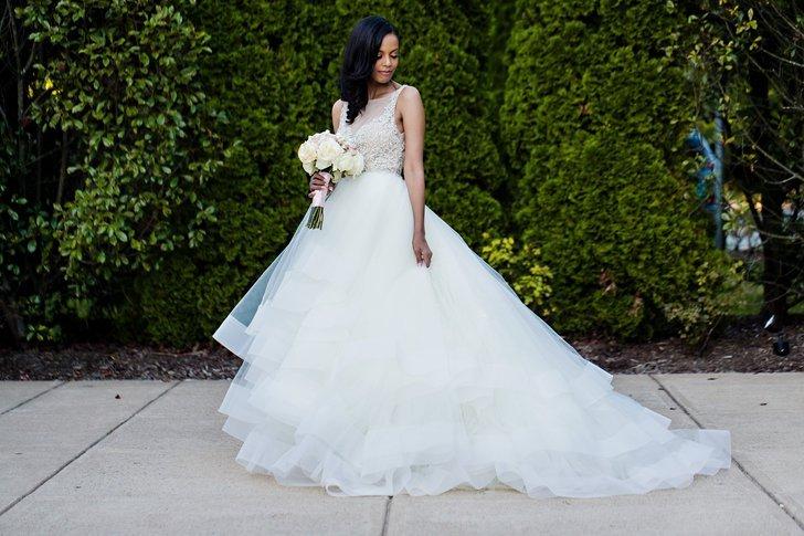 Lazaro Bridal Dress
