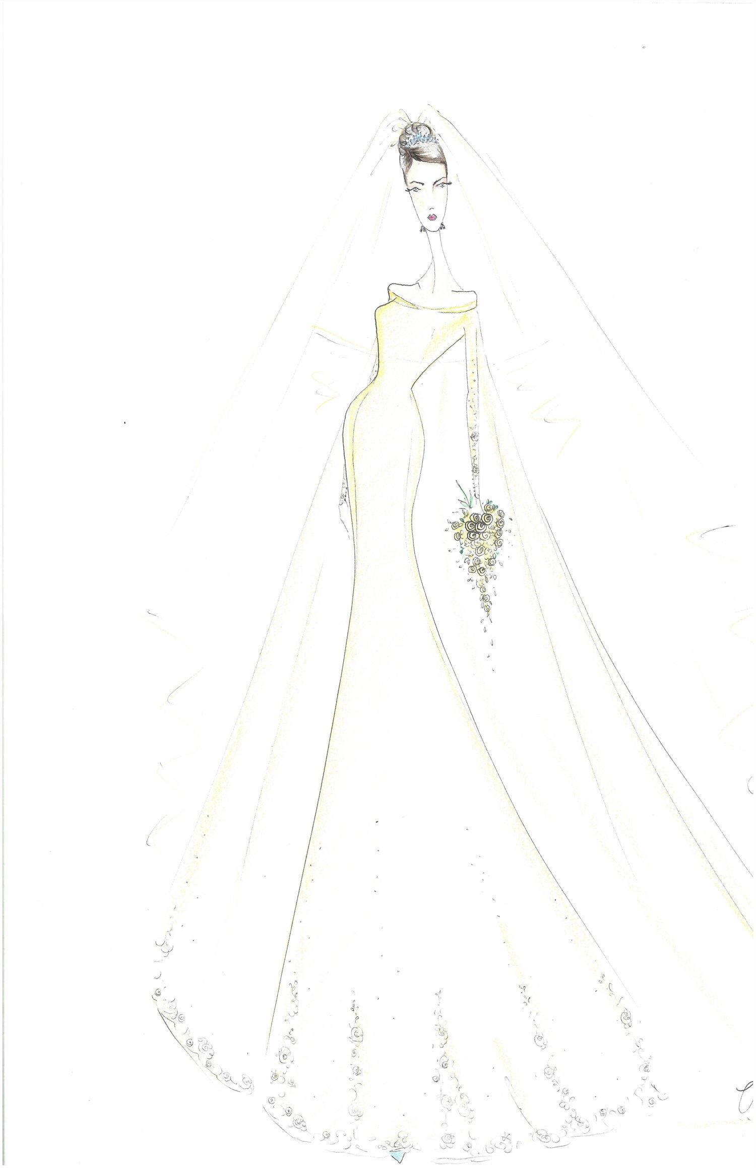 JLM Couture\'s Wedding Dress Ideas for Meghan Markle | JLM Couture