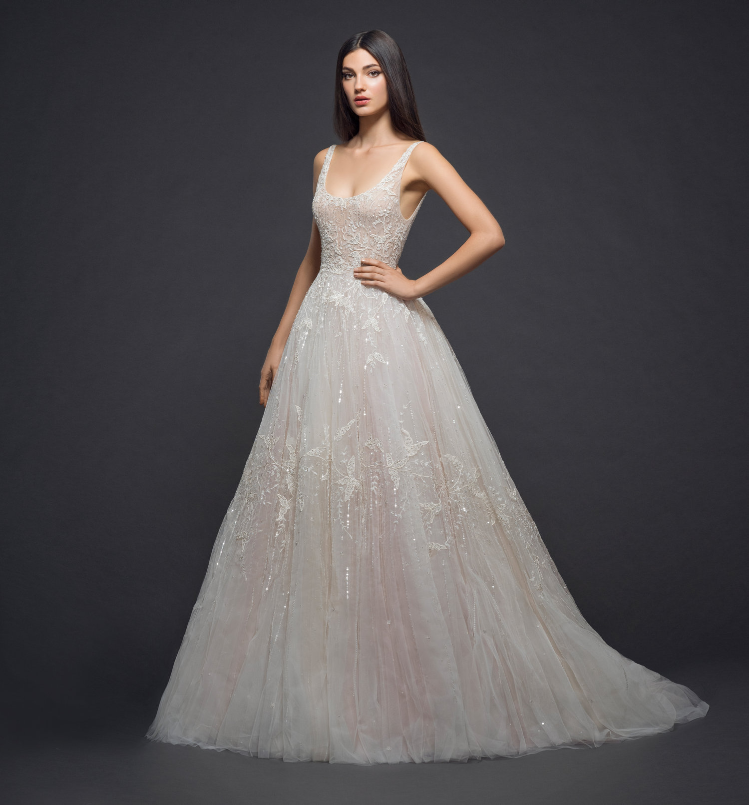 Blush Colored Wedding Dresses Sure to Wow for Valentine\'s Day | JLM ...