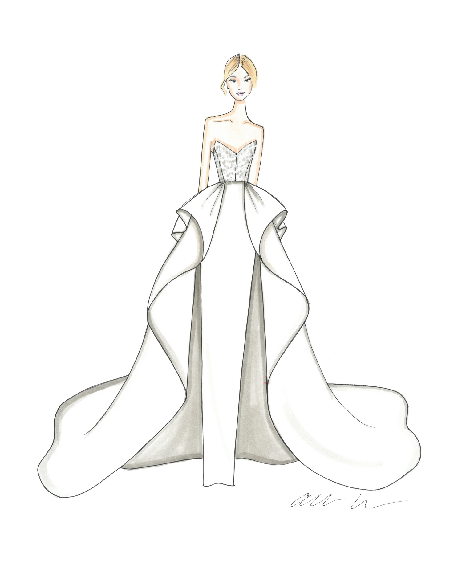 Allison Webb Covington Gown