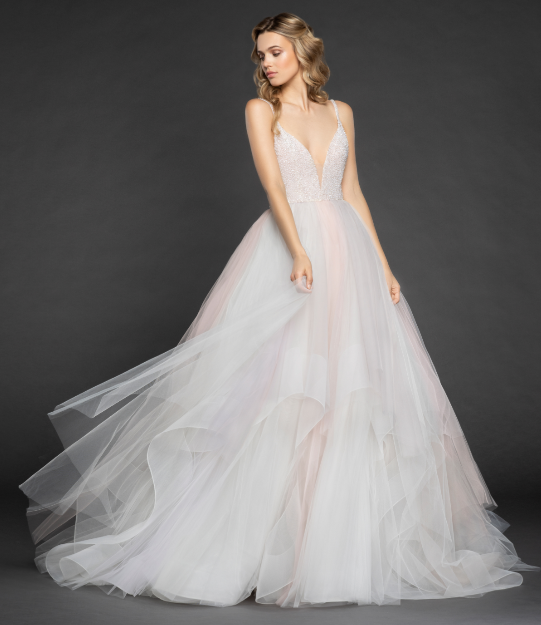 Hailey Paige Wedding Gowns: Colorful Bridal Gowns To Wear On Your Wedding Day