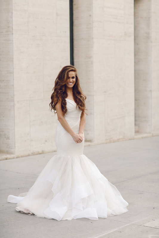 Now In Stores Hayley Paige Bowie And Glazer Wedding