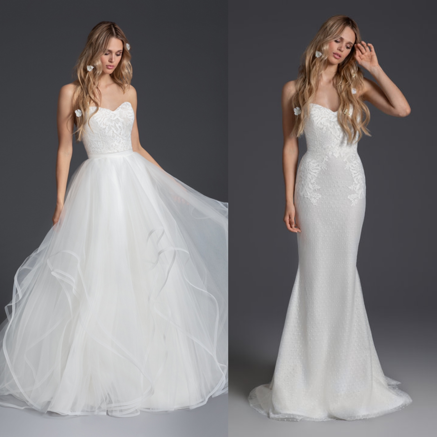 Wedding Dresses With Removable Skirts : Two In One Dresses ...