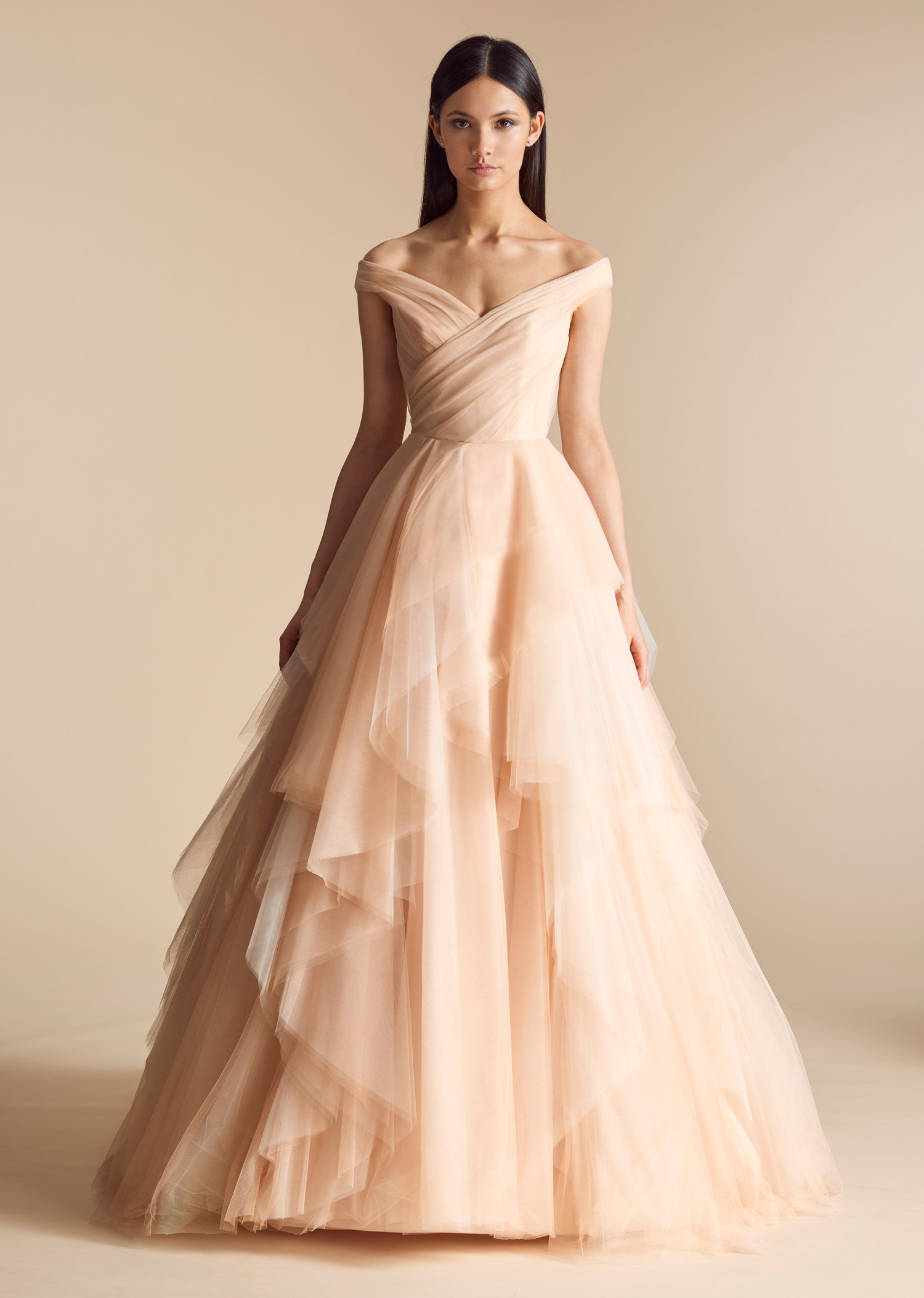 BHLDN Crest Gown Ball Gown Wedding Dress by BHLDN