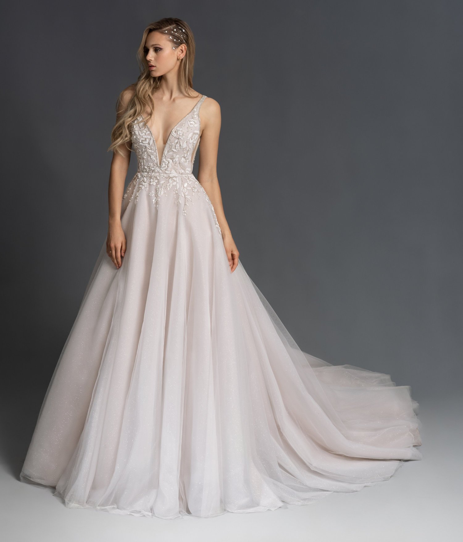 Designer Wedding Gowns Dresses: All That Glitters: Beaded Wedding Gowns From JLM Couture