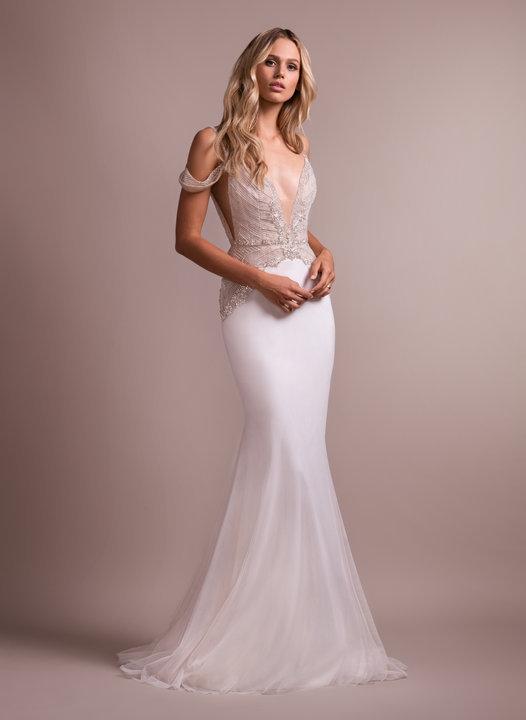 English Net Wedding Dress