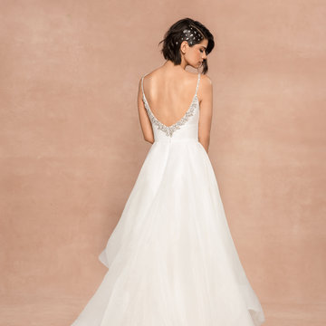 Blush by Hayley Paige Style 12005 Halsey Bridal Gown