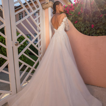 Blush by Hayley Paige Style Nyla 12155 Bridal Gown
