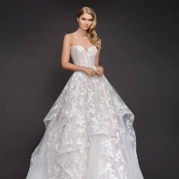 Blush by Hayley Paige Style 1800 Lulu Bridal Gown