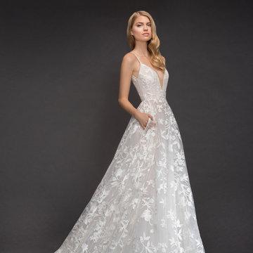 Blush by Hayley Paige Style 1817 Fleur De Lis Bridal Gown