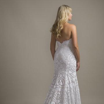 Blush by Hayley Paige Style 1858 Safyr Bridal Gown