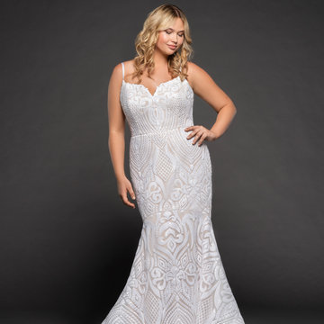 Blush by Hayley Paige Style 1871 West Bridal Gown
