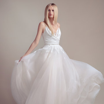 Blush by Hayley Paige Style 1901 Fawn Bridal Gown