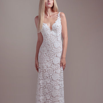 Blush by Hayley Paige Style 1910 Atlas Bridal Gown