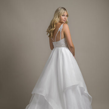 Hayley Paige Style 1853S Perri Gown