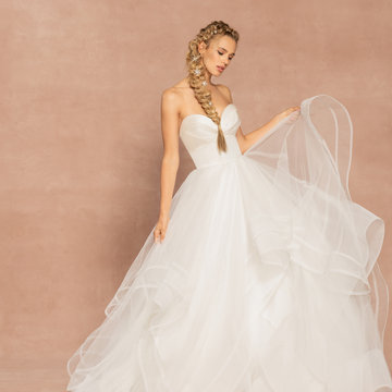 Hayley Paige Style 62005 Loretta Bridal Gown