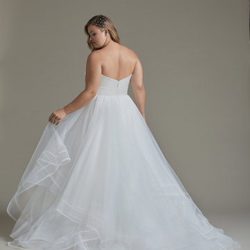 Hayley Paige Style 62005S Loretta Bridal Gown