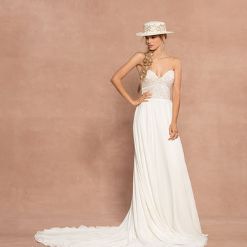 Hayley Paige Style 62009 Clyde Bridal Gown
