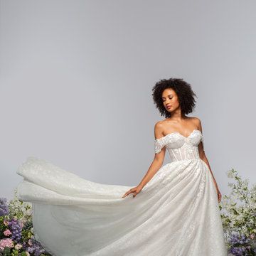 Hayley Paige Style 62100 Monet Bridal Gown