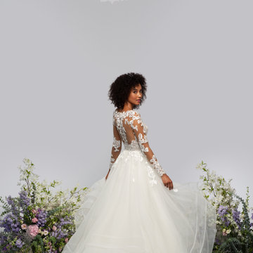 Hayley Paige Style 62104 Wrigley Bridal Gown