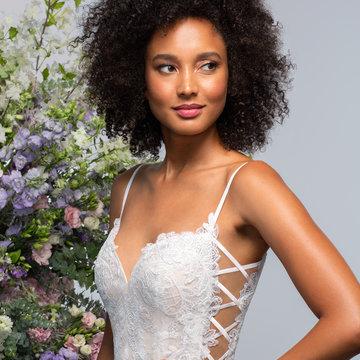 Hayley Paige Style 62106 Byrdie Bridal Gown