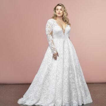 Hayley Paige Style 62107S Dalton Bridal Gown