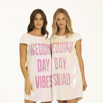 Athleisure Wedding Day Vibes Long Tee