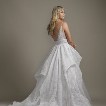 Hayley Paige Style 6850 Markle Bridal Gown